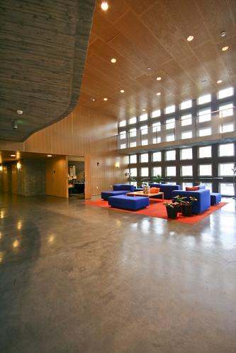Simmons Hall Interior  Steven Holl  Simmons Hall is home