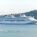 Barco de Princess en Jamaica