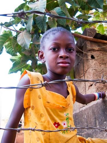 Mädchen in Ouagadougou