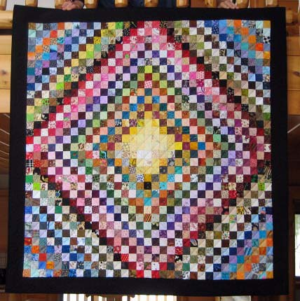 Daughter of Thunder Bay Charm Quilt