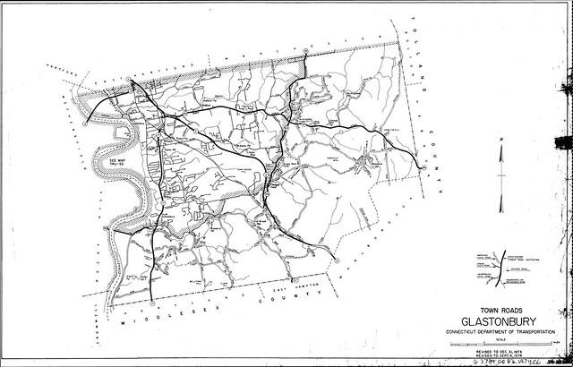 Town roads Glastonbury/ Connecticut Department of