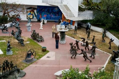 Statue Garden from Neverland