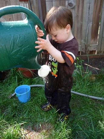 Water & dirt make it fun!