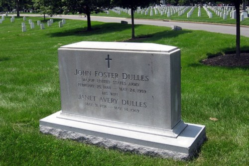 Virginia - Arlington National Cemetery: John Foster Dulles gravesite