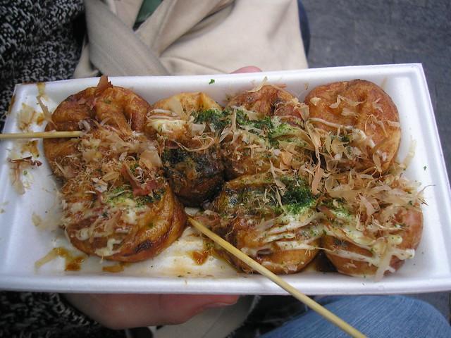 Takoyaki, Osaka