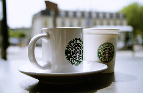 We love Starbucks