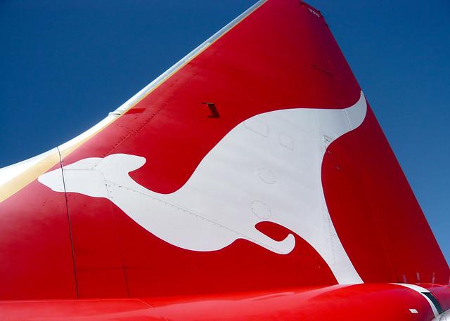 Qantas B737-800 VH-VXU
