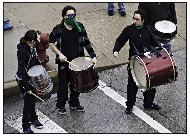 Drummers May Day
