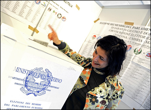 "Foto ""European elections 2009"" by European Parliament - flickr"