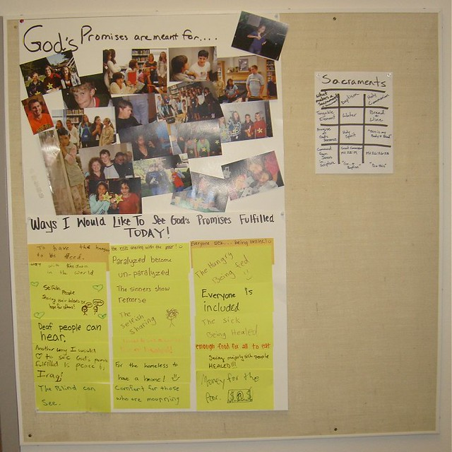 Junior High Sunday School Bulletin Board Flickr Photo