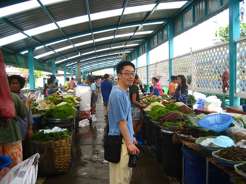 The local markets of Bangkok