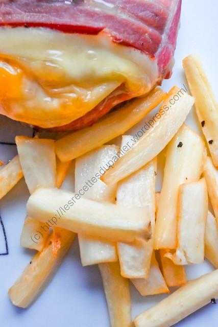 Frites de panais / Parsnip fries