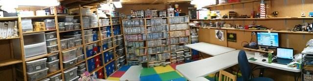 LEGO Room Panorama
