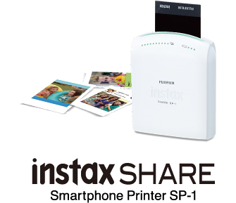 Fuji Launches Instax Mini Smartphone Printer