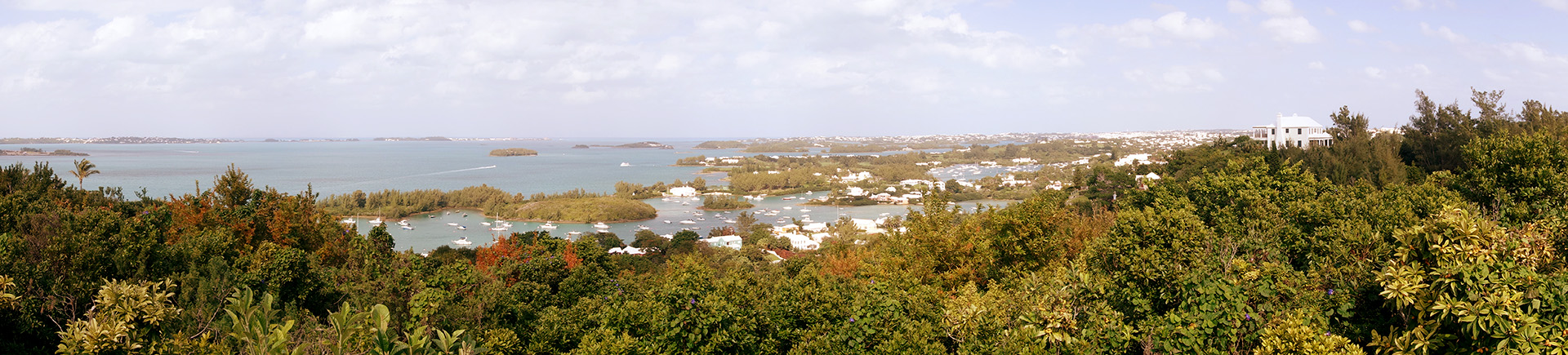 View from Gibb's Hill, Bermuda.