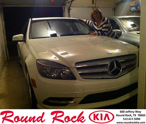 Thank you to Farideh Mahboubi on your new 2011 #Mercedes-Benz #C-Class from Amir Mahboubi and everyone at Round Rock Kia! #NewCarSmell by RoundRockKia