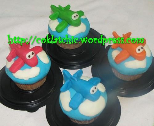 Cupcake pesawat