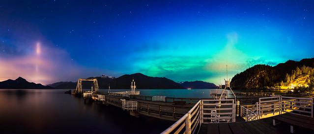 Aurora Borealis at Porteau Cove - Explored!