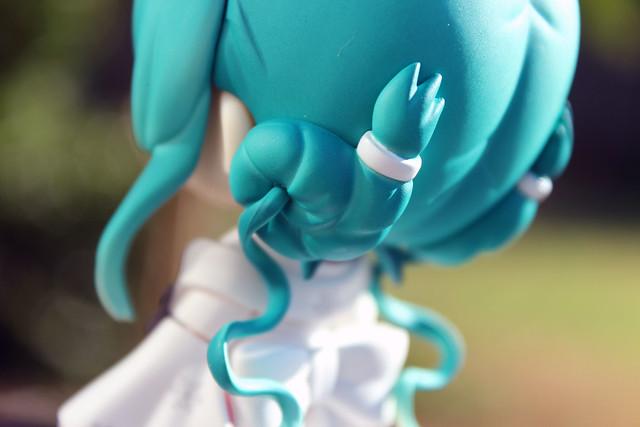 miku bun close up