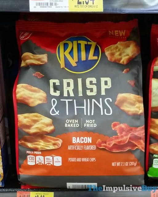 Ritz Bacon Crisp & Thins Chips