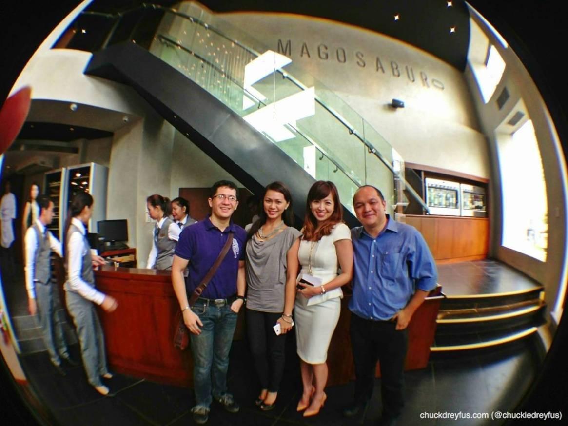 Me, my wife (Yen), Abigail Tabuchi-Sumida (Magosaburo CEO) & Nicky Tesoro