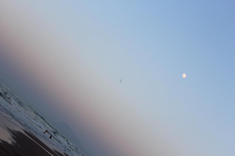 Cerrando la playa