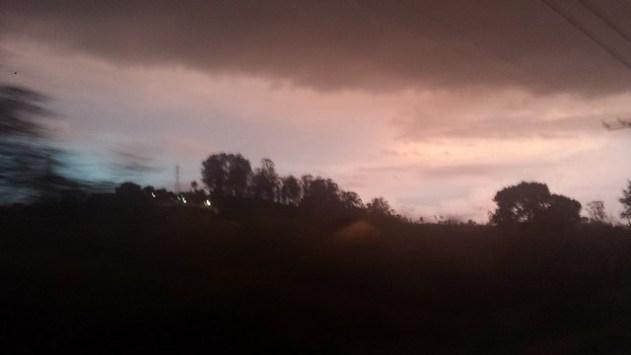 Entrando na tempestade
