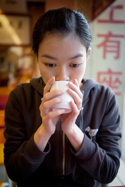 A Tea Drinker
