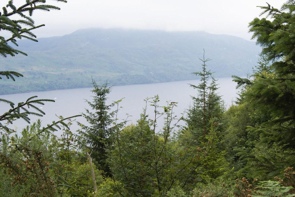 Le Loch Ness depuis les hauteurs d'Invermoriston