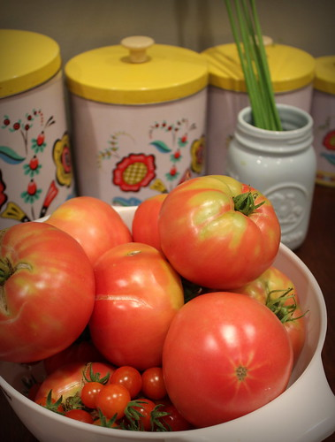 20130719. It's officially tomato season!