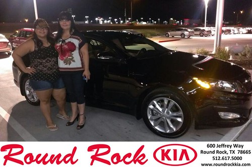 Thank you to Wilmarie Bray on the 2013 Kia Optima from Ruth Largaespada and everyone at Round Rock Kia! by RoundRockKia