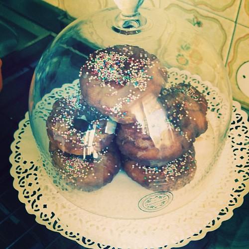Doughnuts ricetta di @laurelevans  #food  #cibo #ciambella #vitainfamiglia