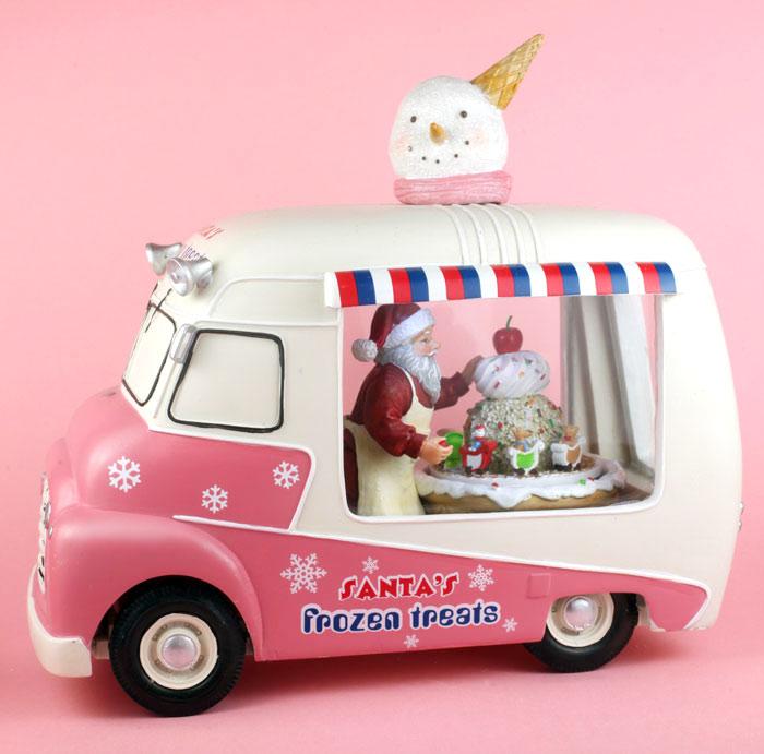 Santa's Frozen Treats Ice Cream Truck