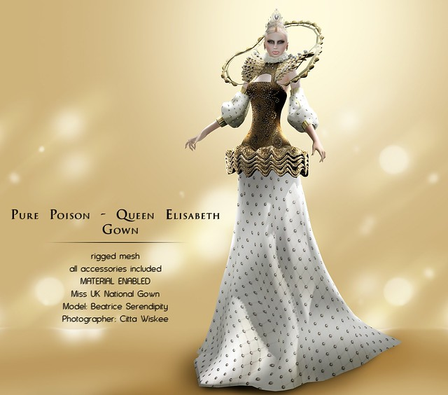 Pure Poison - Queen Elisabeth Gown