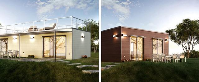 Construcción modular, arquitectura ecológica y sostenible
