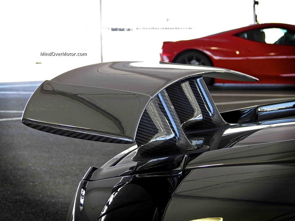 Lamborghini Gallardo LP570-4 Superleggera carbon fiber rear spoiler