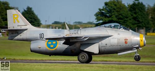 SAAB J 29F Tunnan by Simon Batty