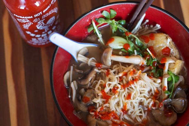 Mushroom Miso Ramen 2