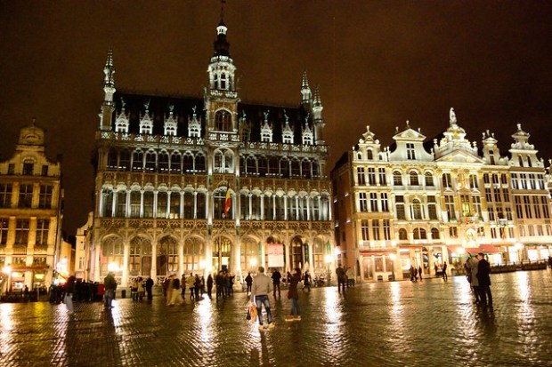 Maison du Roi / Broodhuis at night | Brussels, Third Time's a Charm | No Apathy Allowed
