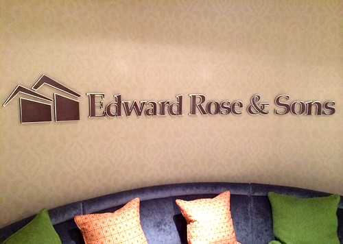 Edward Rose & Sons Interior Wall Logo by Redirections Sign & Design