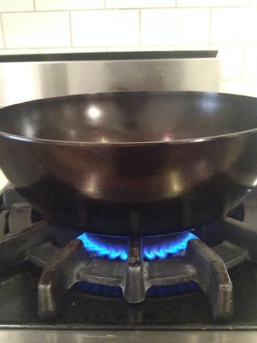 seasoning cast iron with