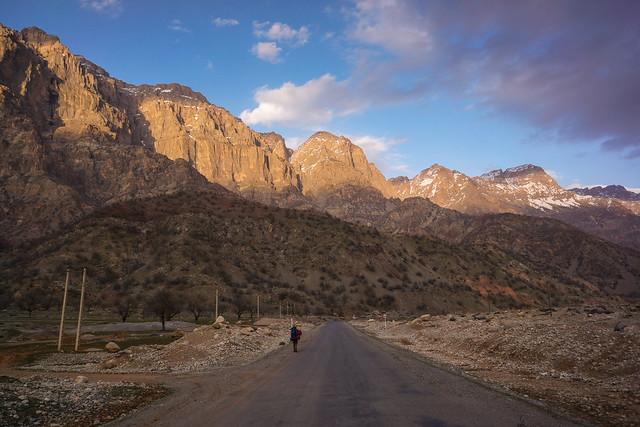 Trekking in the Zagros mountains