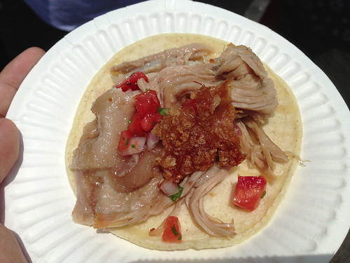 Chichen Itza: Lechon (Suckling Pig) Taco