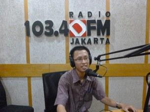 Siaran tentang Produktivitas Hidup @ 103.4 DFM Jakarta