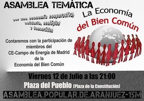 Economía Bien común Aranajuez