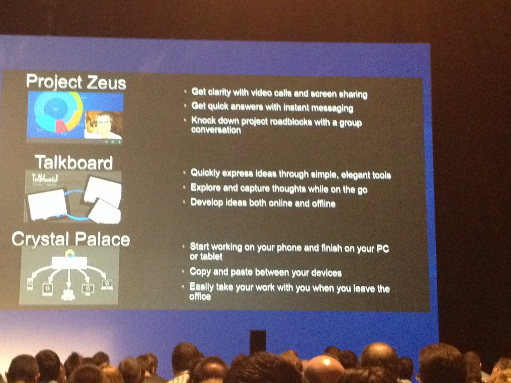 Citrix, Project Zeus, Talkboard, Crystal Palace