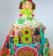 Jayda's Spa cake