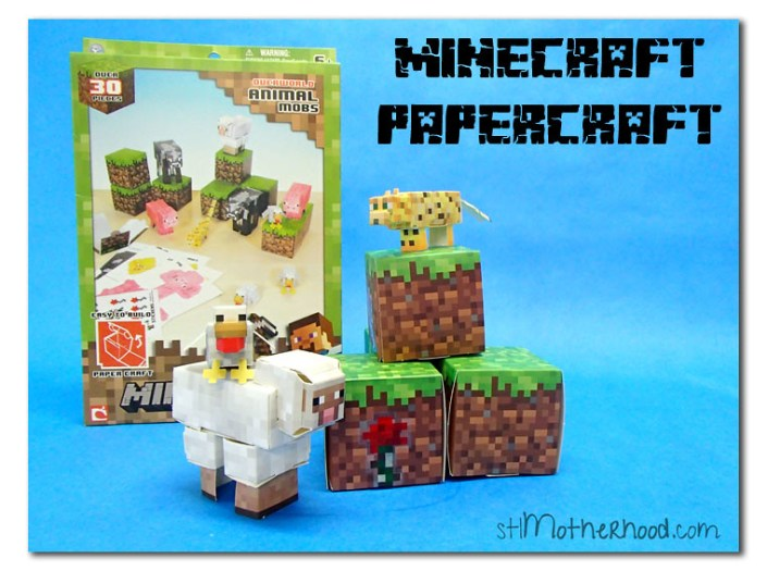 Minecraft Papercraft review