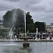 Park near Louvre - Paris June 2013