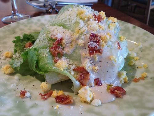 おとなりはレタスのサラダ@PASTA HOUSE AWkitchen FARM 多摩センター店
